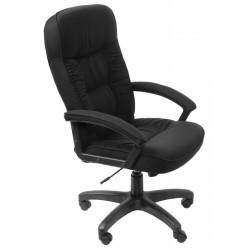Кресло руководителя Бюрократ T-9908AXSN-Black черное TS-584 (664177)