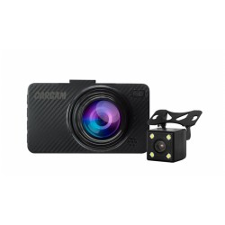 "Видеорегистратор Каркам D5 1920*1080/140°/3""/microSD/CMOS/H.264/G-сенсор/-/-/mHDMI/2камеры"