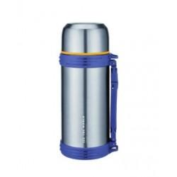 Термос Winner WR-8266 1.2л,нерж.сталь,широкое горло,доп.чашка,матовый корпус
