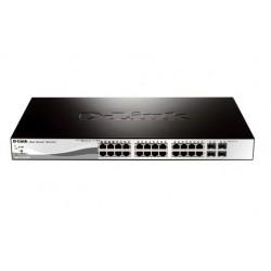 Коммутатор D-Link DGS-1210-28 (24-ports 10/100/1000 Mbps 4 SFP port управляемый)