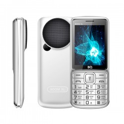 "Сотовый телефон BQ BQ-2810 BOOM XL Silver (2sim/2.8""/240*320/32Mb/microSD/0.3Мп/Bt/1700мАч/фонарик)"