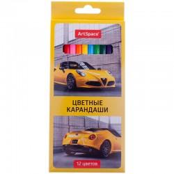 """Карандаши 12цв. СПЕЙС """"Машинки"""" 229349"""