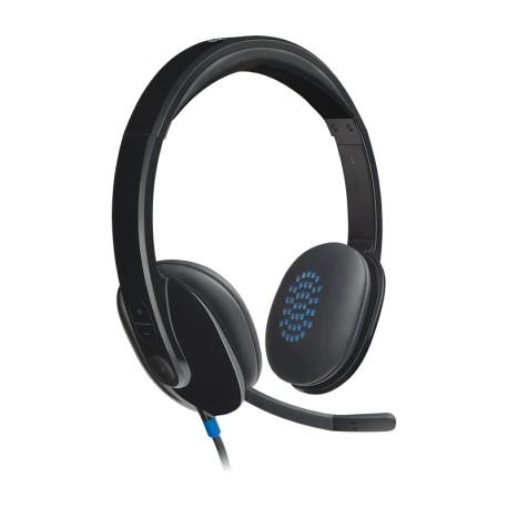 Гарнитура Logitech Headset H540 (981-000480) накладные, кабель 1.9м, Black