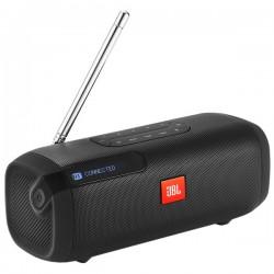 Портативная акустика JBL Tuner FM (JBLTUNERFMBLKRU) Bluetooth, питание от аккумулятора, Black
