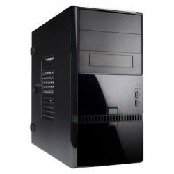 Корпус mATX InWin ENR022 (черный,USB/Audio,Б/П 400w)