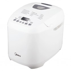 Хлебопечь Midea BM-210BC-W White (580Вт,вес выпечки 1кг,12 программ)