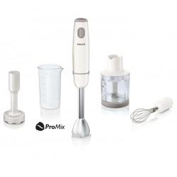 Блендер Philips HR1608 White (погружной,550Вт,мерный стакан,измельчитель,венчик)