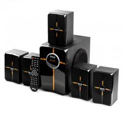 Актив.колонки 5.1 Dialog Progressive AP-502 50Вт, FM, USB/SD, Bt, питание от сети, MDF, Black