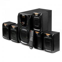 Актив.колонки 5.1 Dialog Progressive AP-505 80Вт, FM, USB/SD, Bt, питание от сети, MDF, Black