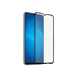 Защитное стекло для Huawei Honor 10 Lite/10i/20e/P Smart (2019)/Honor 10i с цветной рамкой (fullscreen + fullglue) DF hwColor-83 (black)