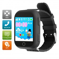 "Смарт-часы Ginzzu GZ-503 Black 1.54""/IP55/And4.4,iOS7/GPS/WiFi"