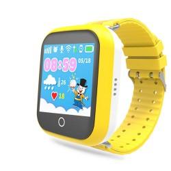 """Смарт-часы Ginzzu GZ-503 Yellow 1.54""""/IP55/And4.4,iOS7/GPS/WiFi"""