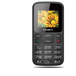 """Сотовый телефон Texet TM-208 Черно-красный (2sim/1.77""""/128*160/-/microSD/-/Bt/800мАч/фонарик/большие кнопки)"""
