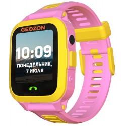 "Смарт-часы GEOZON ACTIVE Pink 1.44""/IP67/And,iOS/GPS/0.3Мп"