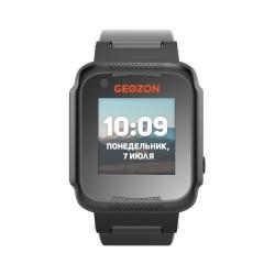 """Смарт-часы GEOZON AIR Black 1.22""""/IP65/And,iOS/GPS,Wi-Fi/0.3Мп"""