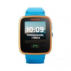 "Смарт-часы GEOZON AQUA Blue 1.44""/IP67/And,iOS/GPS,Wi-Fi/0.3Мп"