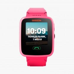 """Смарт-часы GEOZON AQUA Pink 1.44""""/IP67/And,iOS/GPS,Wi-Fi/0.3Мп"""