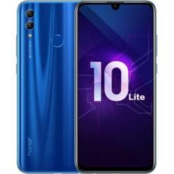 "Смартфон Huawei Honor 10 Lite 64Gb Blue 2sim/6.21""/2340*1080/4*1.7+4*2.2ГГц/3Gb/64Gb/mSD/24Мп/Bt/WiF"
