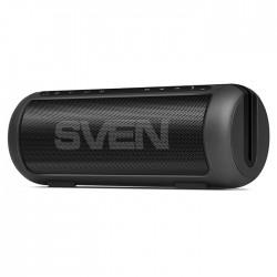 Портативная акустика Sven PS-250BL 2*5Вт, Bluetooth, питание от батарей, FM, USB, microSD, Black