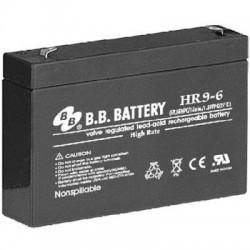 Аккумулятор BB Battery HR 9-6 (6V,9Ah)
