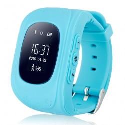 "Смарт-часы Wonlex GPS Kids Watch Q50 Blue 1sim/0.96""/OLED/GPS/400mAh"