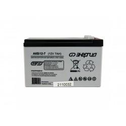Аккумулятор Энергия 12-7 (12V, 7Ah)
