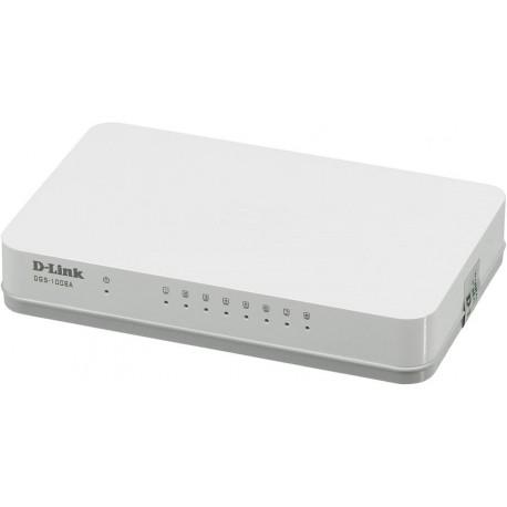 Коммутатор D-Link DGS-1008A (8-ports 10/100/1000 Mbps UTP Stand-alone)