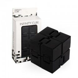 Игрушка-антистресс INFINITY CUBE черная