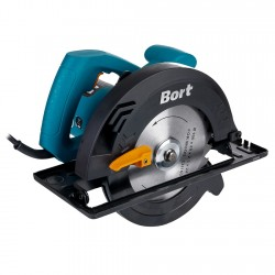 Пила дисковая Bort BHK-160U 1250Вт, 5600 об/мин, диск 165мм, посадка 20мм, глубина пропила 50м