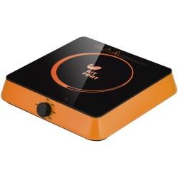 Плита настольная Kitfort КТ-113-3 Orange 1600Вт, конфорок-1, упр. сенсор., индукция