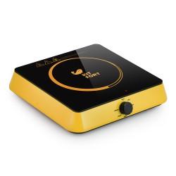 Плита настольная Kitfort КТ-113-4 Yellow 1600Вт, конфорок-1, упр. сенсор., индукция