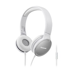 Гарнитура Panasonic RP-HF500MGC накладные, 25Ом, 110дБ, кабель 1.2м, White