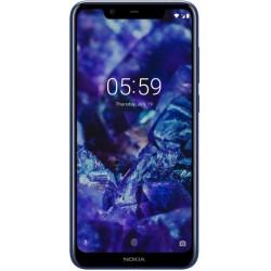 "Смартфон Nokia 5.1 Plus Blue 2sim/5.8""/1520*720/8*1.8ГГц/3Gb/32Gb/mSD/13Мп/Bt/WiFi/GPS/And8.0/3060м"