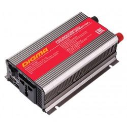 Автоинвертер Digma DCI-300 300Вт, 12В, от АКБ, порт USB