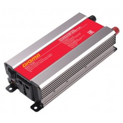 Автоинвертер Digma DCI-800 800Вт, 12В, от АКБ, порт USB