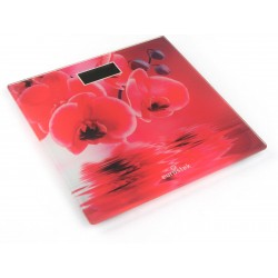Весы Eurostek EBS-2805 Red стекло, точность 0,1кг, макс. 150кг, авто вкл/выкл