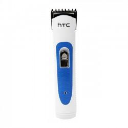 Машинка для стрижки HTC AT-028 White/blue длина стрижки 3-6мм, 1 насадка, от сети/автоном. 45мин.