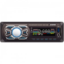 Автомагнитола Digma DCR-310B 1DIN, 4x45Вт, MP3, FM, SD, USB, AUX