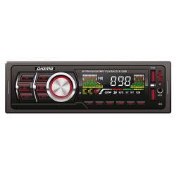 Автомагнитола Digma DCR-350R 1DIN, 4x45Вт, MP3, FM, SD, USB, AUX