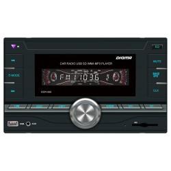 Автомагнитола Digma DCR-550 2DIN, 4x50Вт, MP3, FM, SD, USB, AUX