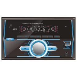 Автомагнитола Digma DCR-560 2DIN, 4x50Вт, MP3, FM, SD, USB, AUX