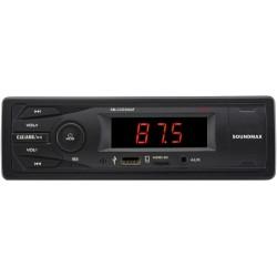 Автомагнитола Soundmax SM-CCR3064F 1DIN, 4x40Вт, MP3, FM, SD, USB, AUX