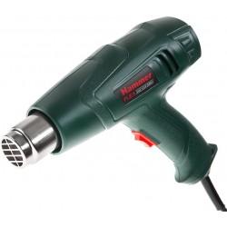 Фен технический Hammer HG2000LE 2000Вт, до 500 л/мин, макс. темп. 600 градусов, насадки