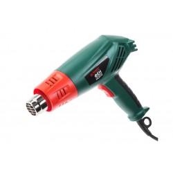 Фен технический Hammer HG2010 2000Вт, до 500 л/мин, макс. темп. 600 градусов, 4 насадки