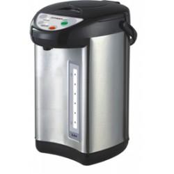 Термопот First 5448-4 Black/Silver 900Вт, 3л, металл/пластик