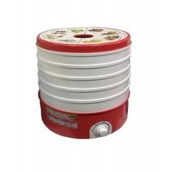 Сушилка для овощей Чудесница СШ-006 White/red 520Вт, 5 поддонов