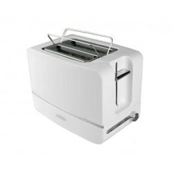 Тостер Hermes Technics HT-TO600 White 870Вт, механическое управление, 6 режимов