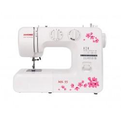Швейная машина Janome MX 55 (электромеханическое управ.,реверс,12 операций,свет)