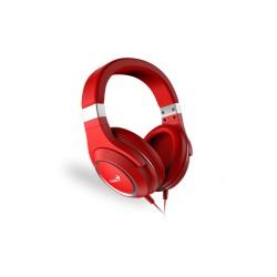 Гарнитура Genius HS-610 накладные, 32Ом, 91дБ, кабель 1.5м, Red