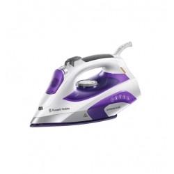 Утюг Russell Hobbs 21530-56 White/violet (2400Вт,350мл,паровой удар 150г/мин,керамика)